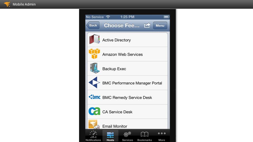 Mobile Admin Unipress Software